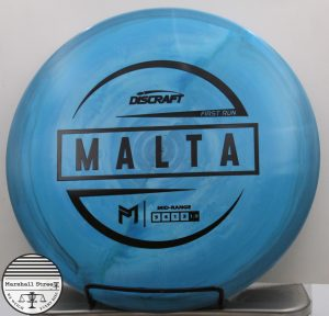ESP Malta, Paul McBeth 1st Run