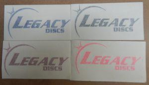 Legacy Window Sticker