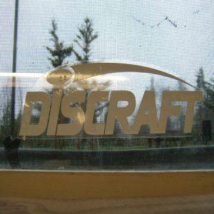 Discraft Vinyl Sticker, Large