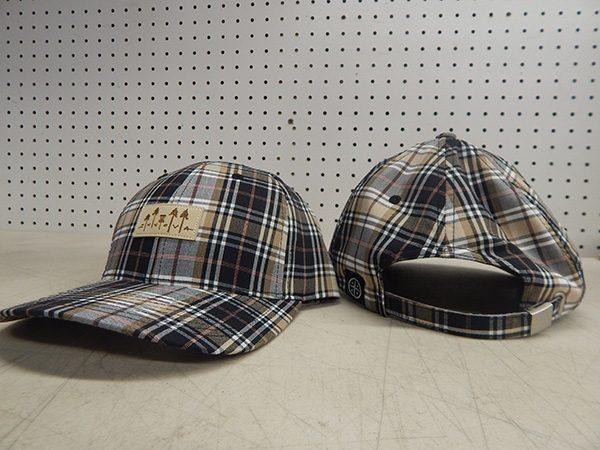 Innova Plaid Tree Patch Hat