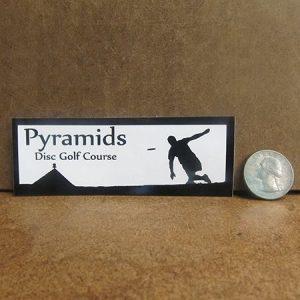Pyramids DGC Thrower Sticker