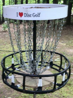 I Love Disc Golf Sticker LARGE