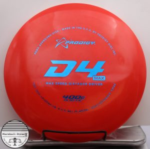 Prodigy D4 Max, 400G