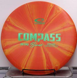 Retro Burst Compass