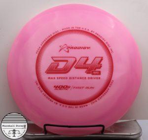 Prodigy D4 Max, 400G First Run