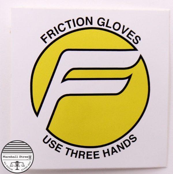 Friction Gloves Sticker