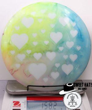 Opto Sapphire Hearts