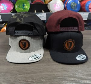 DGA Leather Patch FlatBill Hat