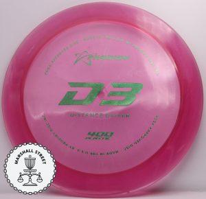 Prodigy D3, 400