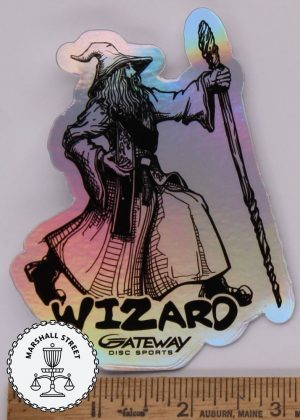 Wizard Holographic Sticker