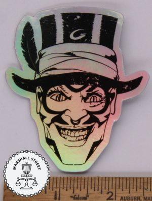Voodoo Holographic Sticker