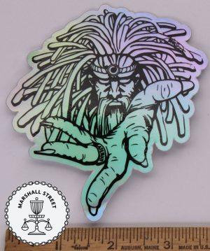 Warlock Holographic Sticker