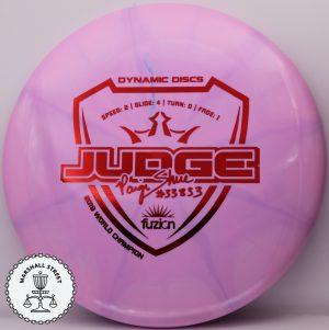 Fuzion Burst Judge, Shue
